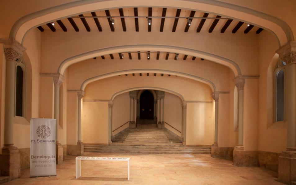 Vestíbul del Seminari de l'Arquibisbat de Tarragona, localitzat al carrer de Sant Pau.