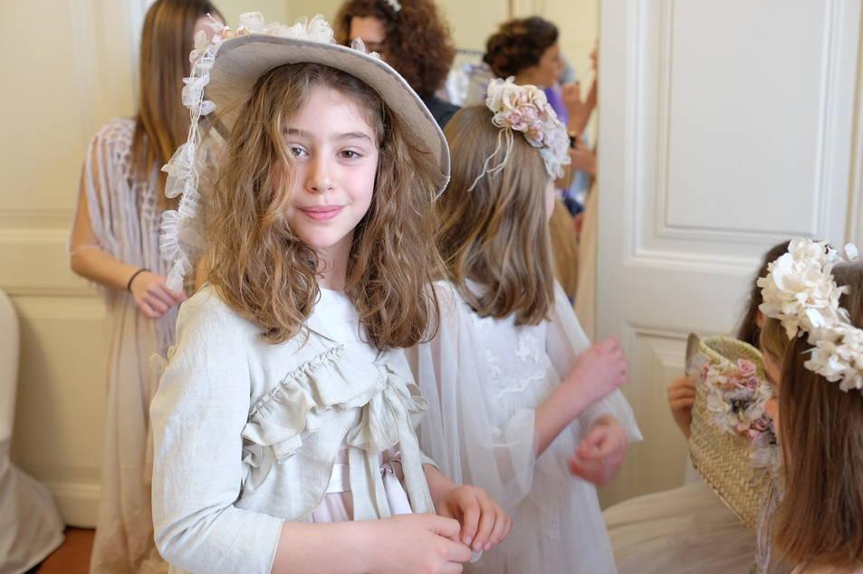 Desfile de trajes de comunión
