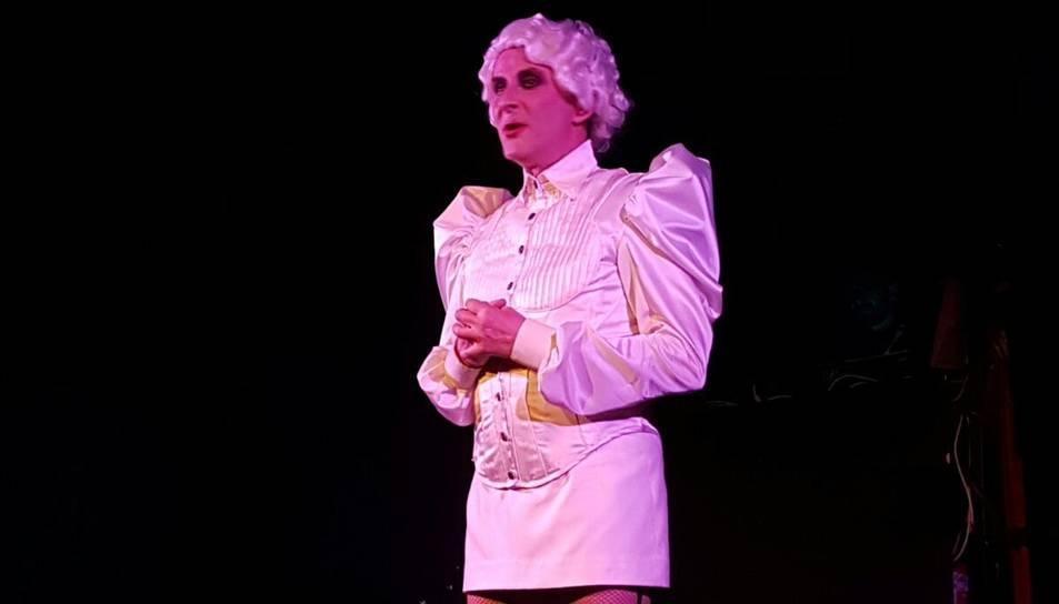Oriol Grau actua a 'Això és tot', l'última obra a la Sala Trono.