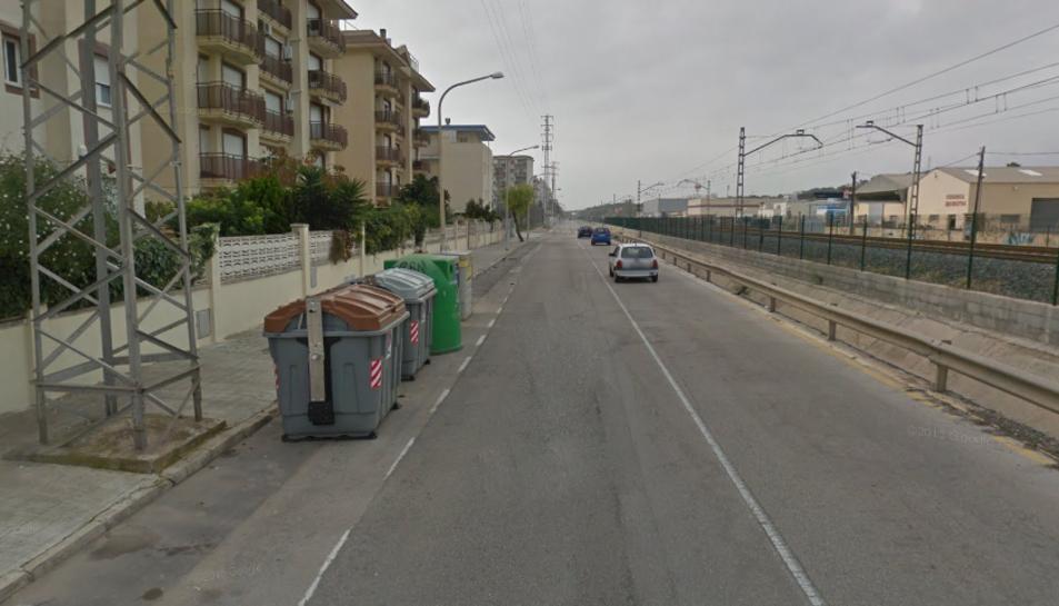 Els contenidors han cremat a l'avinguda Mossèn Jaume Soler.