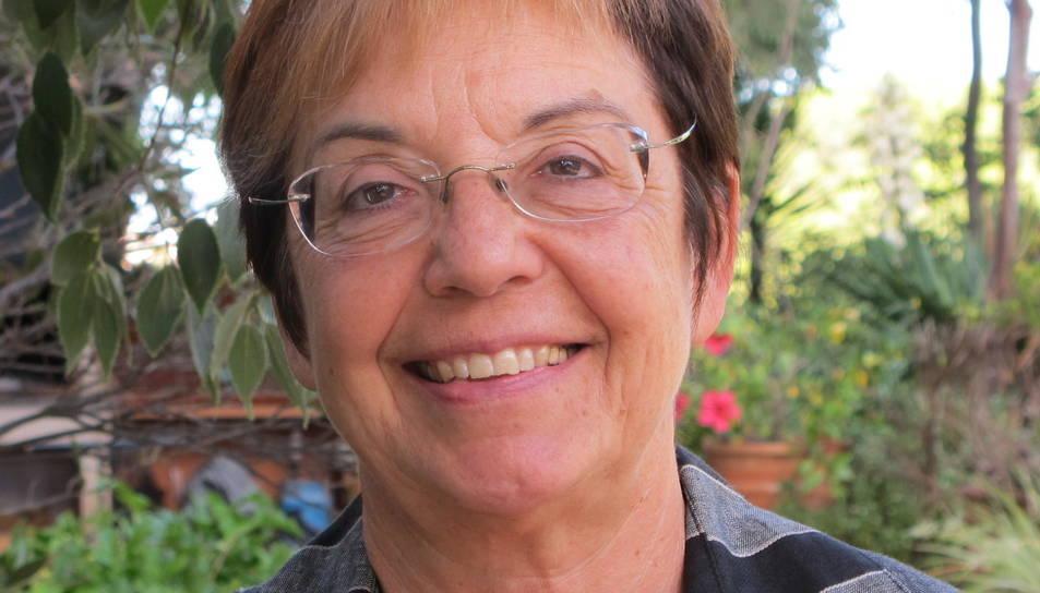 Margarida Aritzeta, autora del llibre.