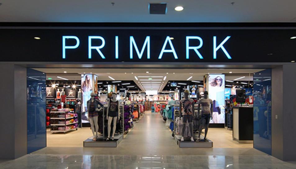 Imatge d'un establiment de Primark.