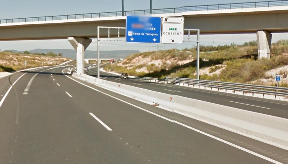 L'accident s'ha produït a l'A-27, a Constantí.