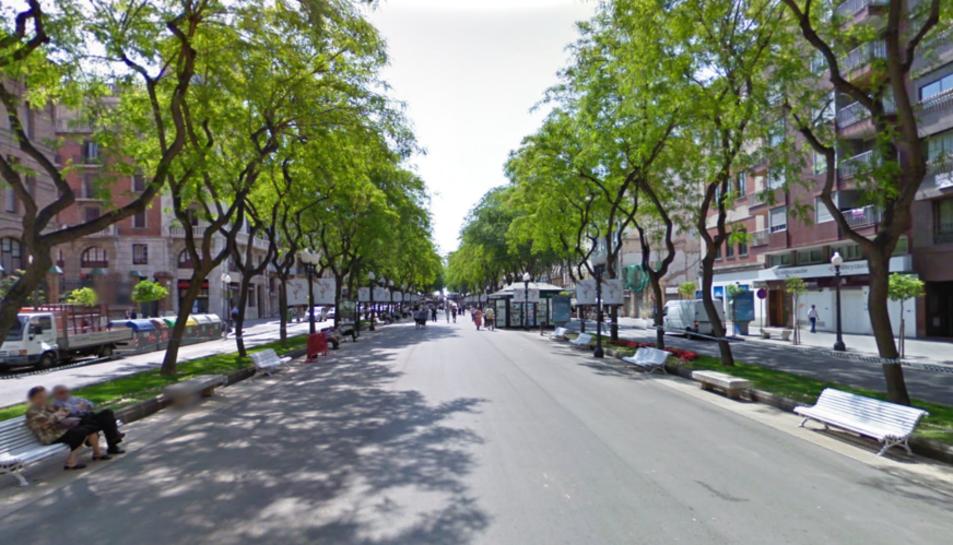 L'averia ha afectat a habitatges i comerços del centre de la ciutat.