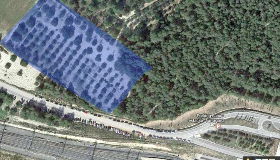 Els terrenys tenen una superfície de 14.389 metres quadrats.
