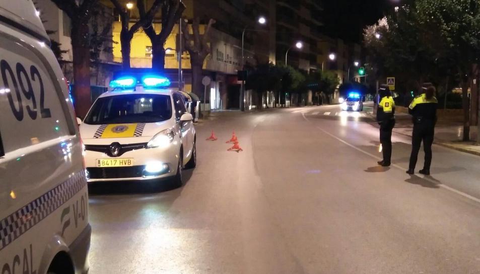 Una imatge d'arxiu de la Policia Local de Badajoz.