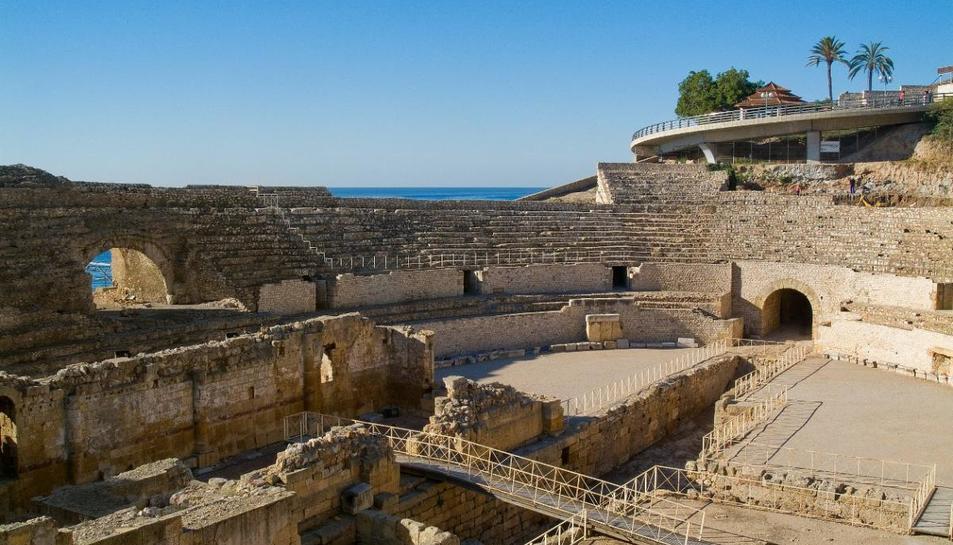 Un dels primers monuments que s'integrarà al projecte serà l'Amfiteatre.