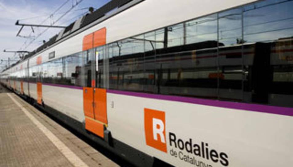 Rodalies ha resolt la incidència entre Móra la Nova i Guiamets.