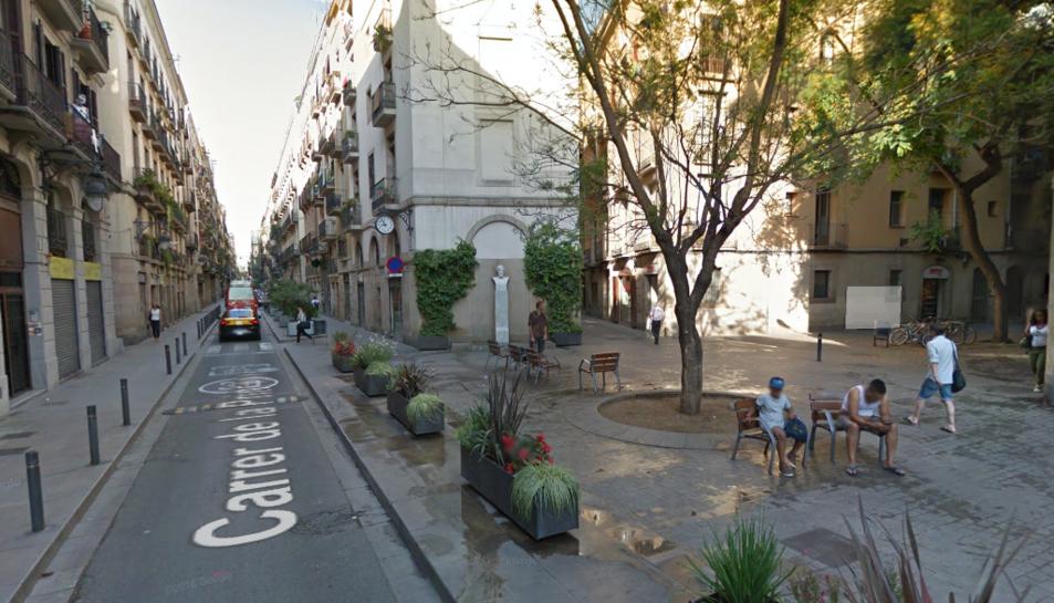 Els fets van succeir al carrer Princesa de Barcelona.