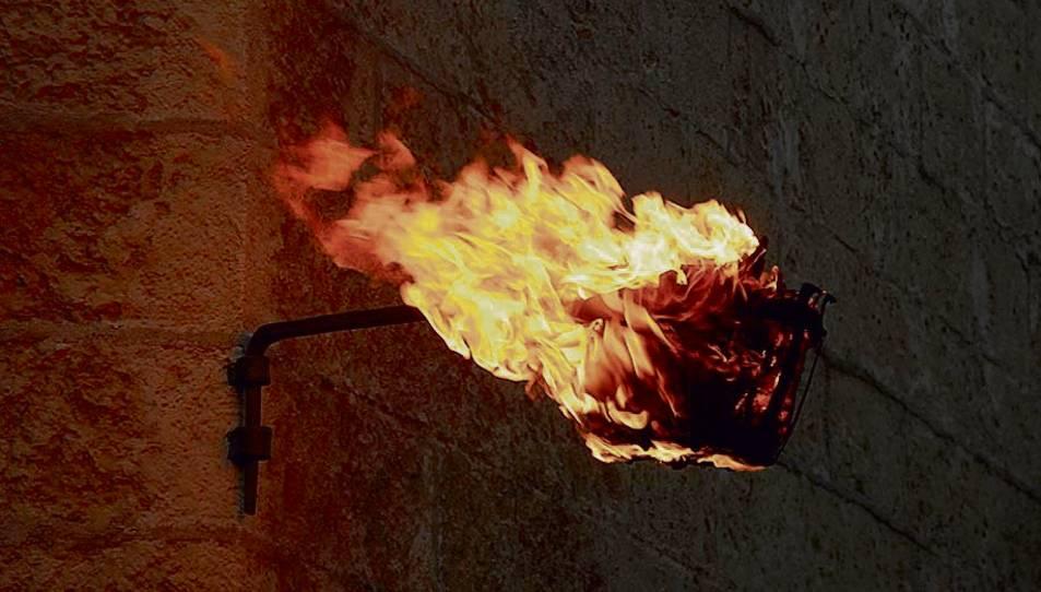 La teiera és un dels foc de combustió que perduren a Reus.