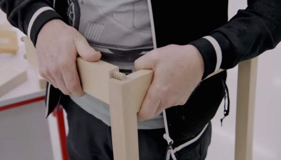 El nou sistema de muntatge d'IKEA.