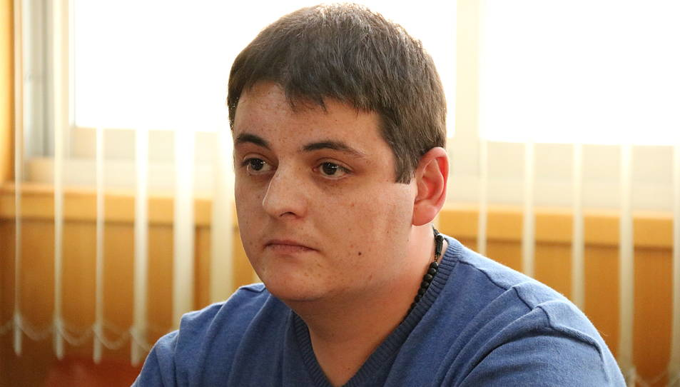 Primer pla de l'acusat del crim de Montblanc, Jaume Solsona, durant el judici a l'Audiència de Tarragona