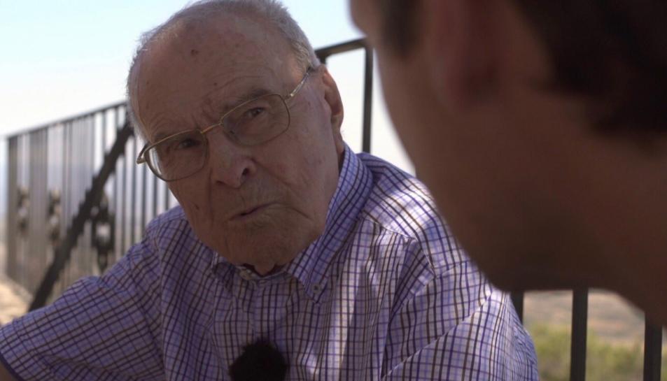 Pere Godall va ser protagonista del darrer capítol del programa 'Trinxeres' de TV3.