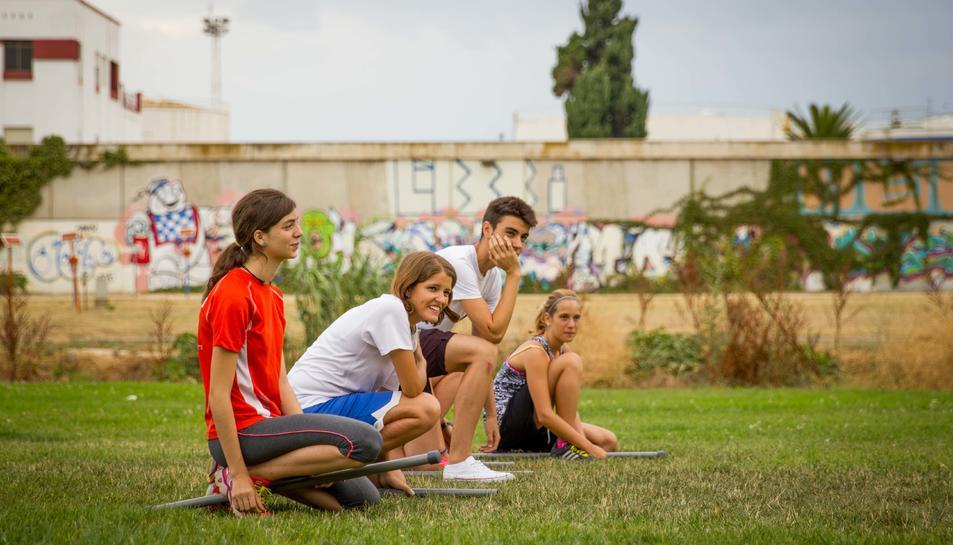 Imatge d'una de les activitats de l'Estiu TarragonaJove 2016.
