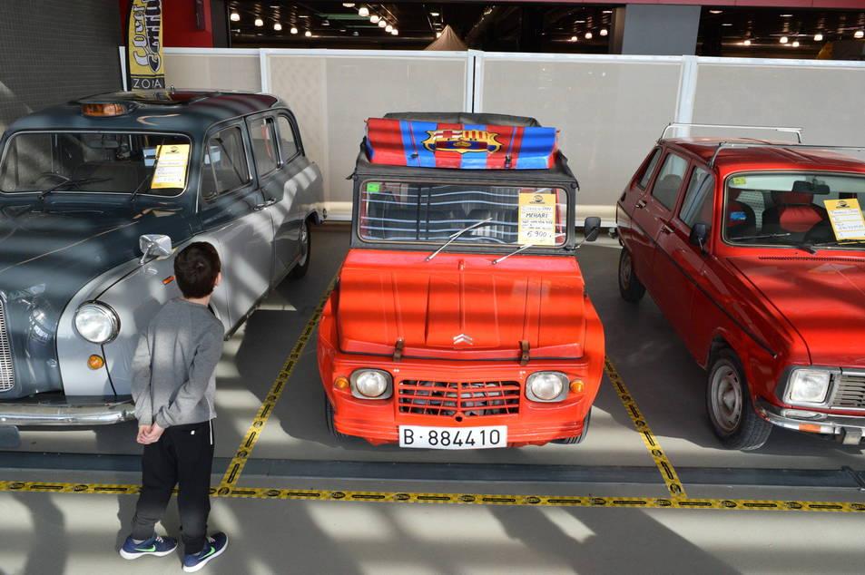 Los coches de época, en Reus