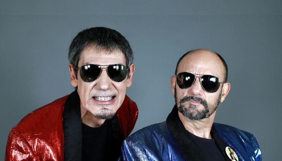 El duet còmic Faemino y Cansado.