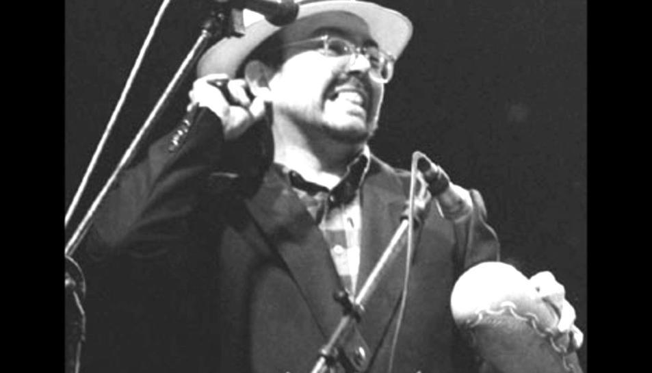 Gato Pérez, un dels precursors de la rumba catalana.