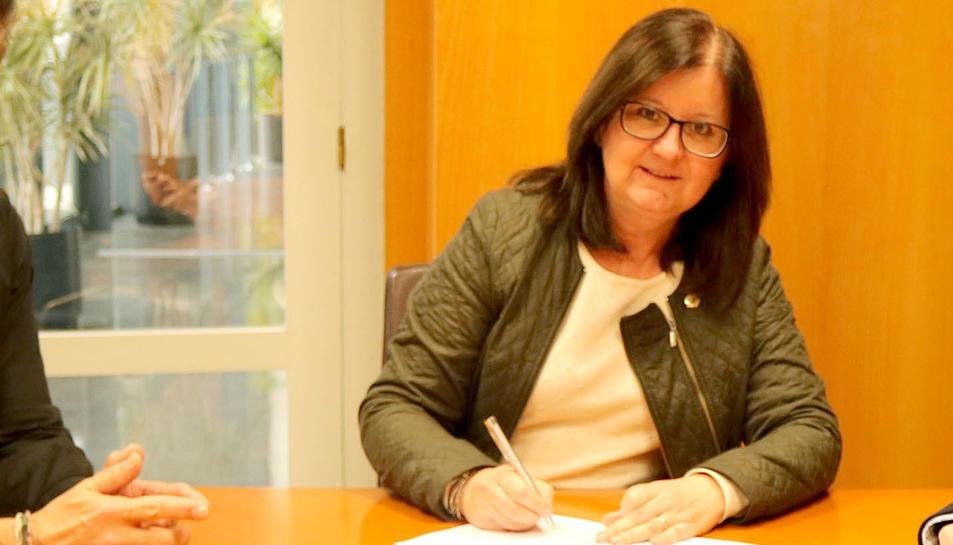 Camí Mendoza, alcaldessa de Cambrils.