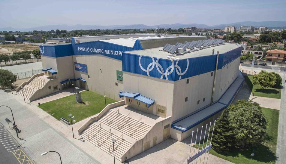 Imatge d'arxiu del Pavelló Olímpic Municipal de Reus, gestionat per Reus Esport i Lleure.
