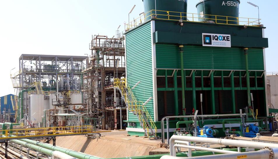 La nova planta d'IQOXE a la Canonja.
