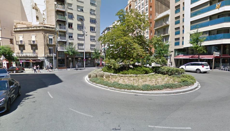 Imatge de la plaça Ponent de Tarragona.