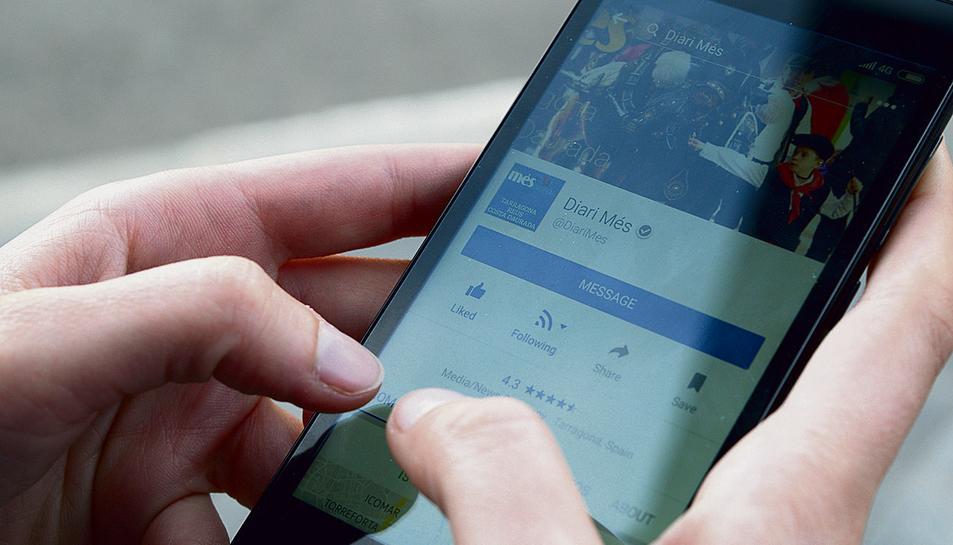 Els usuaris s'impliquen a les xarxes comentant i compartint les notícies