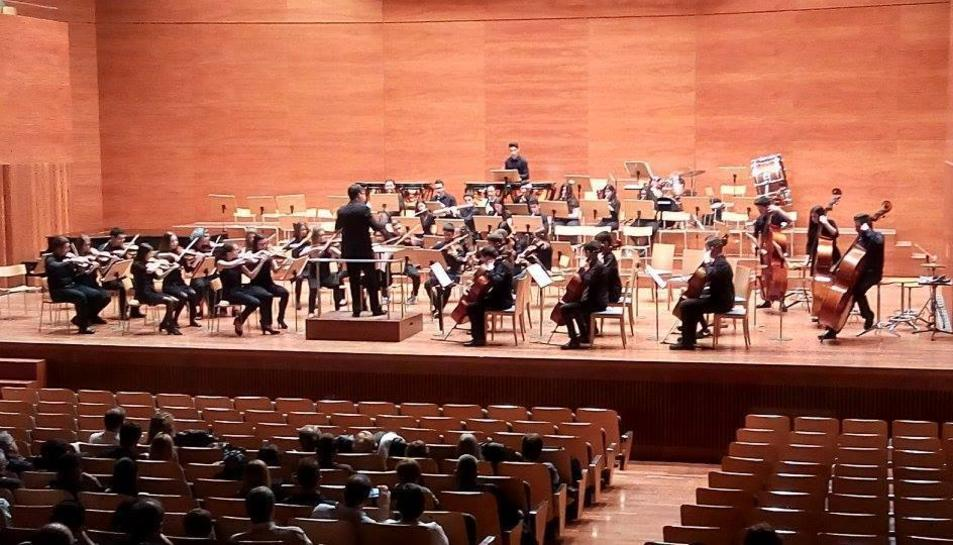 Aquesta actuació serà la segona part d'un intercanvi entre les dues orquestres, que ja van actuar conjuntament el passat curs a l'Auditori Enric Granados de Lleida.