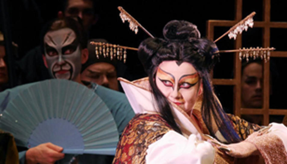 Imatge de la representació de 'Manon Lescaut'.