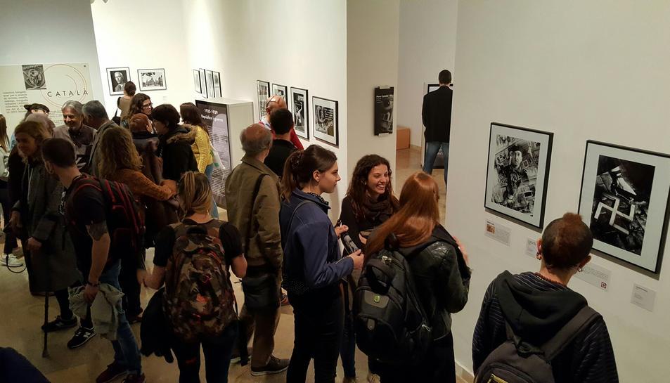 L'exposició es podrà visitar fins al 30 d'abril, i l'entrada és de franc.