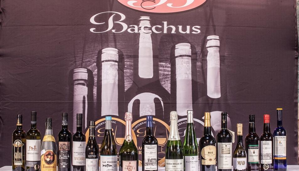 Els premis Bacchus 2017 guardonen els vins que han obtingut puntuacions superiors a 92 punts sobre 100.