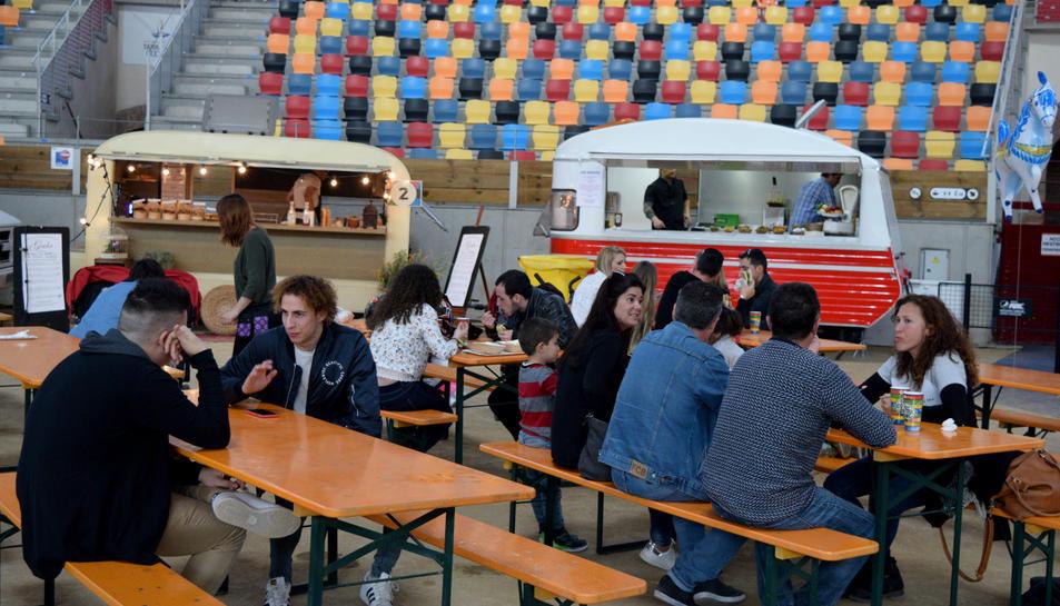 Imatges del Festival Food Truck a la Tarraco Arena Plaça.
