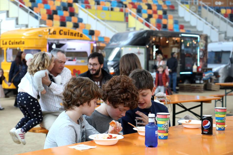 El Festival Food Truck ofereix diversos plats i nous sabors.