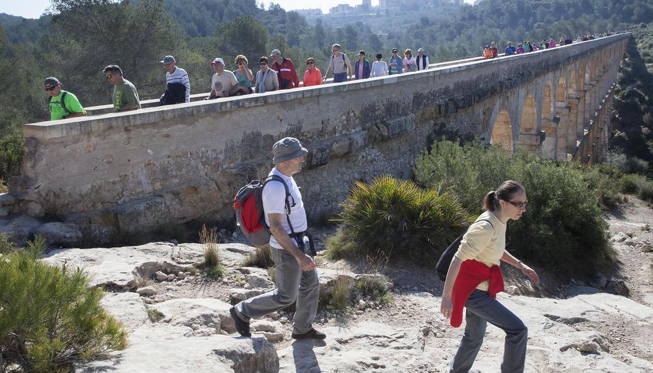 La travessa del Pont del Diable ha estat un dels punts estrella del recorregut.