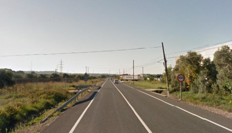 L'accident ha tingut lloc en aquesta carretera.
