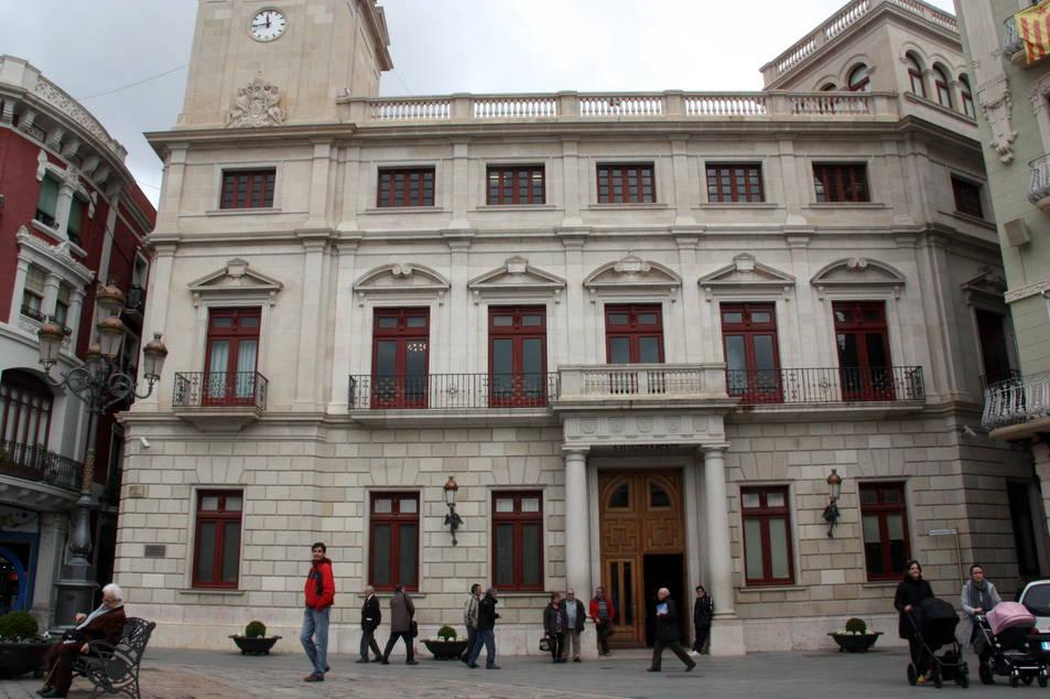 Imatge d'arxiu de la façana del consistori reusenc.