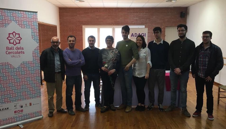 Els detalls del nou ball els va presentar ahir l'Associació Cultural Ball de Cercolets a l'Escola de Dansa Adagi.