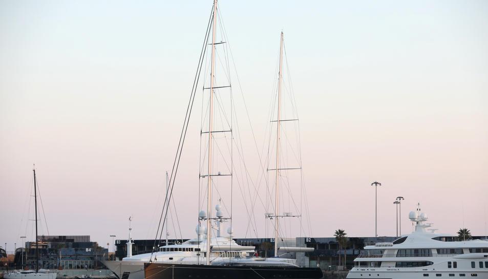 Imatge de Vertigo al port de Tarragona.