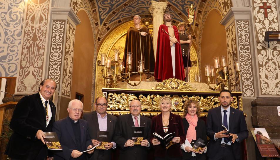 L'acte es va celebrar a l'església de Sant Agustí.