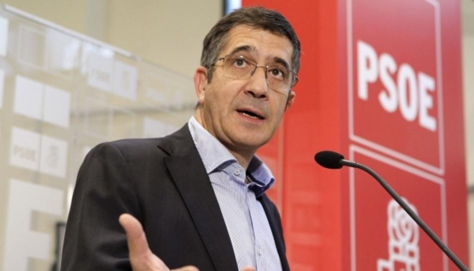 Patxi López, candidat a les primàries del PSOE.