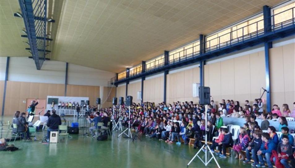 Uns 500 alumnes de la Conca participaran a la VI Cantata de la Conca