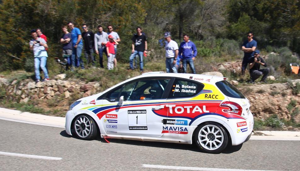 La victòria va ser per a Nil Solans i Miquel Ibáñez, amb un Peugeot 208 R2.