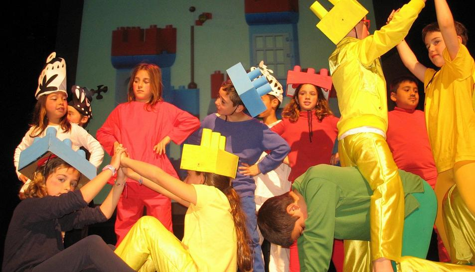 Imatge d'una edició anterior del Festival de Teatre Infantil i Juvenil del Baix Penedès.