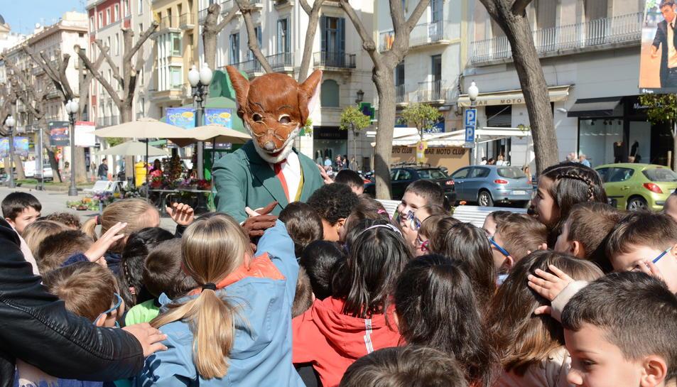 El ratolí Gerónimo Stilton ja està a Tarragona.