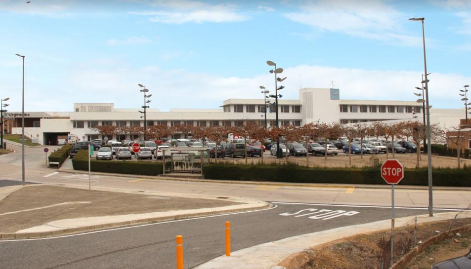 Imatge de l'exterior de l'Hospital Comarcal Móra d'Ebre.