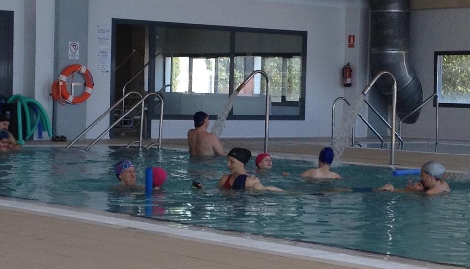 La piscina municipal.