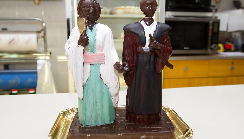 Els Gegants Japonesos ja tenen figura de xocolata.