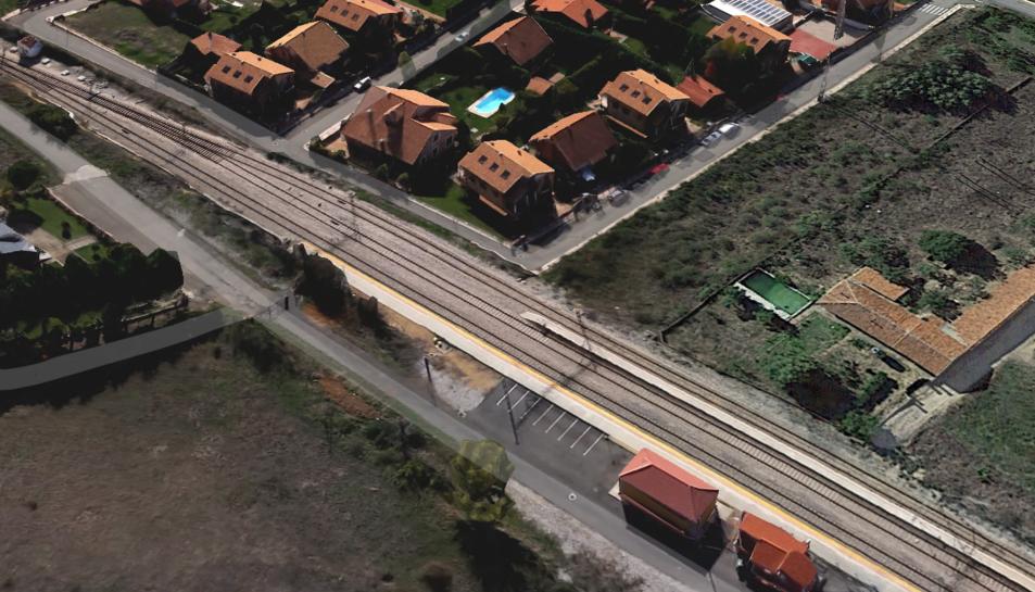 L'atropellament del vehicle va tenir lloc en un pas situat a un quilòmetre de l'estació deSantoveniade laValdoncina.