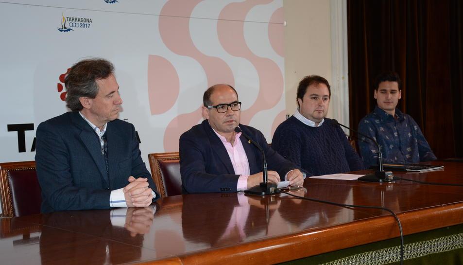 Imatge de la presentació de la JOFICAT a Trragona aquest divendres.