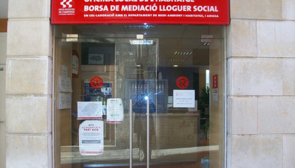 Imatge de l'oficina local de l'habitatge