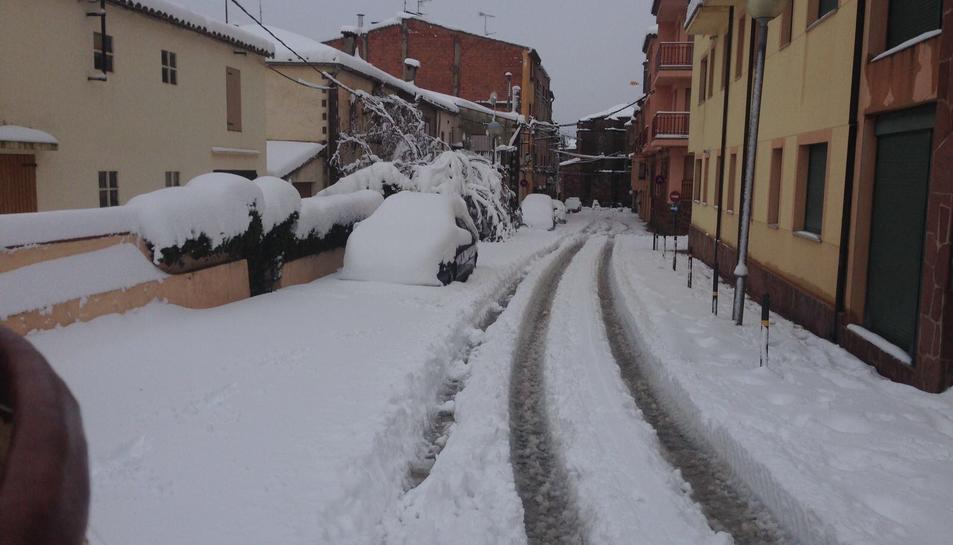 La nevada en Prades (3)